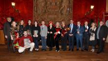 """Catania Università cerimonia consegna del XIII premio Letterario """"Luigi Pirandello"""" nell'aula magna del Rettorato"""